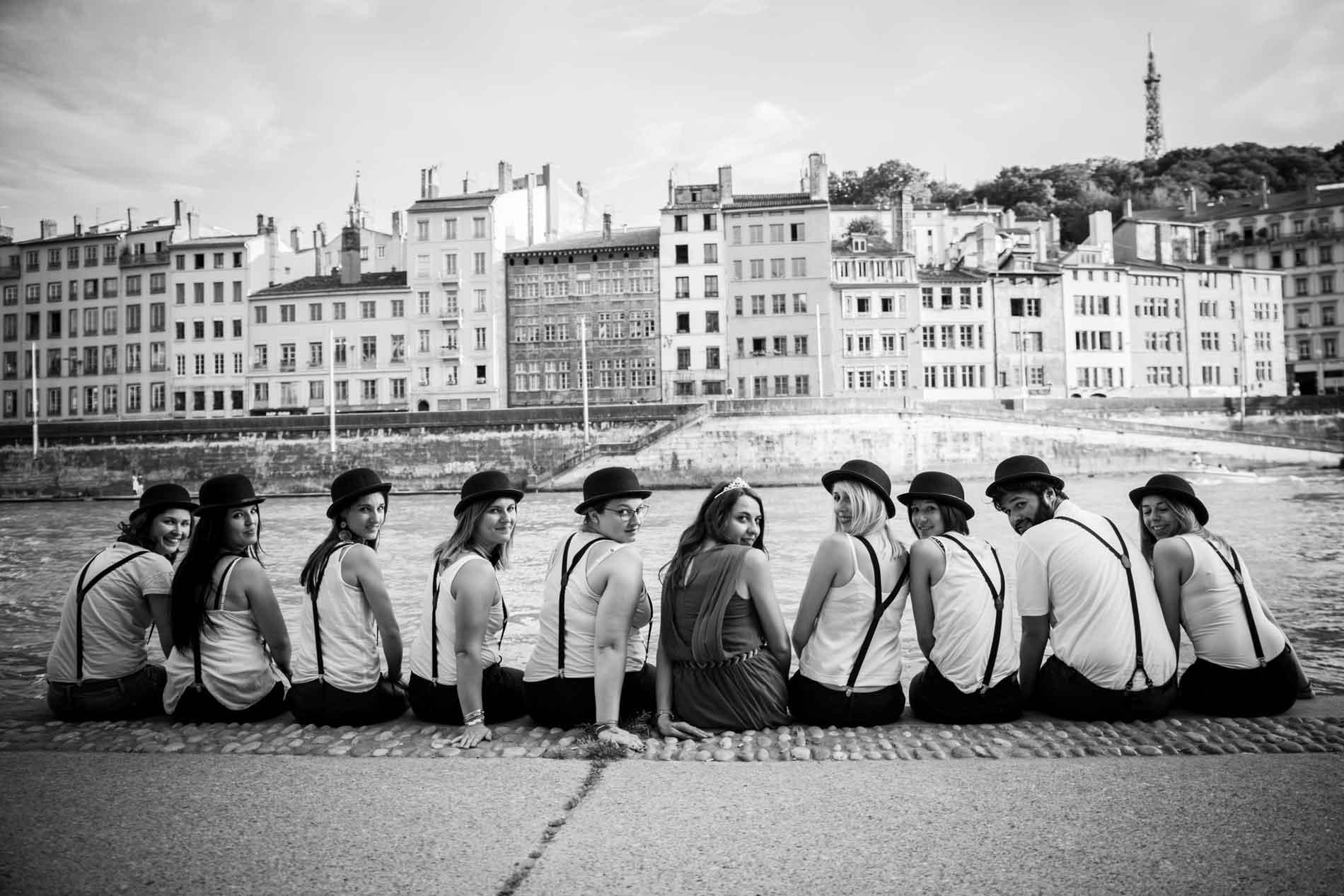 photographe evjf enterrement de vie de jeune fille lyon