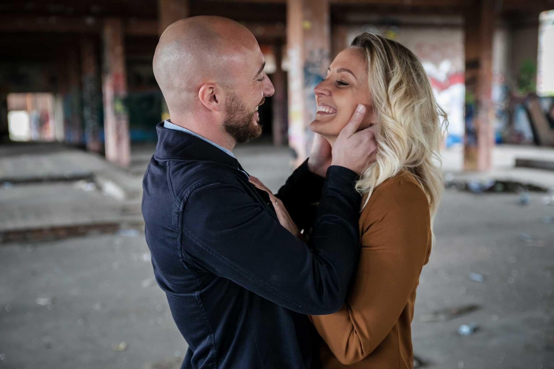 Seance engagement Urbex Lyon